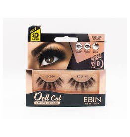 Ebin Doll Cat 3D Lashes - Doll Cat Edeline