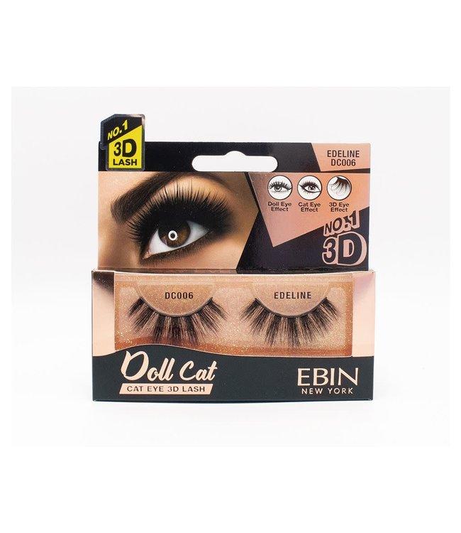 Ebin Doll Cat 3D Lashes - Doll Cat Edeline
