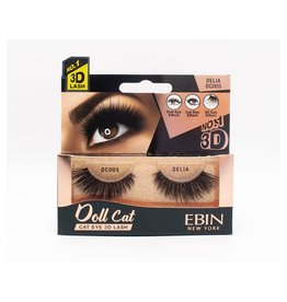 Ebin Doll Cat 3D Lashes - Doll Cat Delia