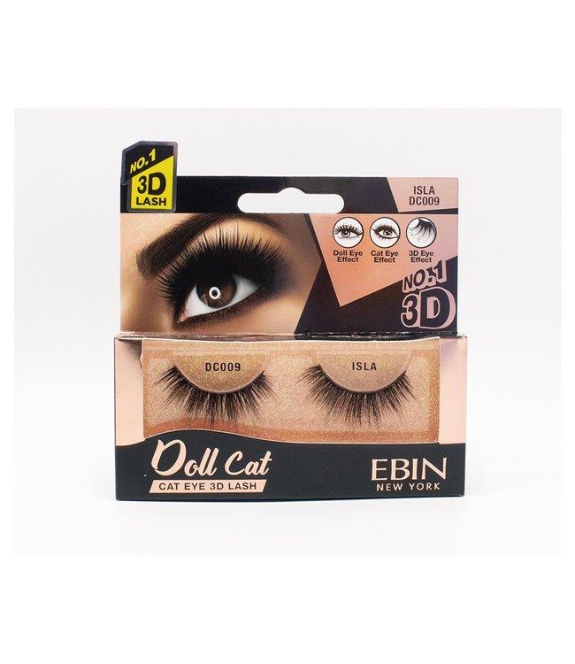 Ebin Doll Cat 3D Lashes - Doll Cat Isla