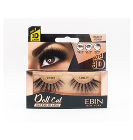 Ebin Doll Cat 3D Lashes - Doll Cat Hadley