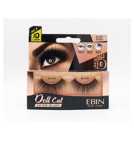 Ebin Doll Cat 3D Lashes - Doll Cat Blair