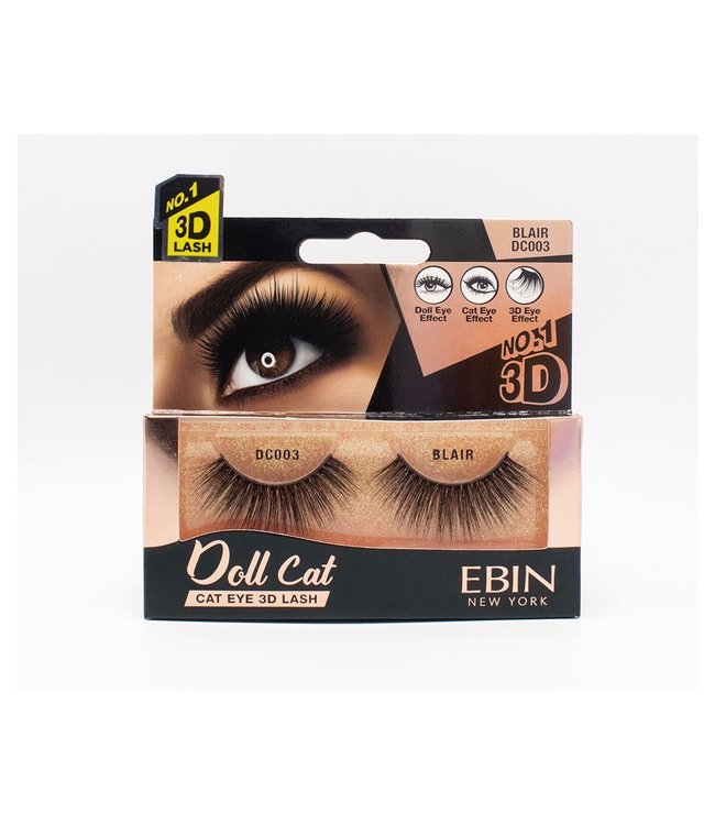 Ebin Doll Cat 3D Lashes - Doll Cat Blair