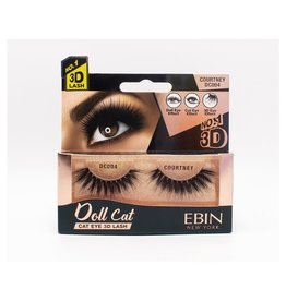 Ebin Doll Cat 3D Lashes - Doll Cat Courtney