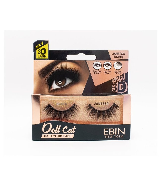Ebin Doll Cat 3D Lashes - Doll Cat Janessa