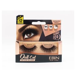 Ebin Doll Cat 3D Lashes - Doll Cat Kathleen