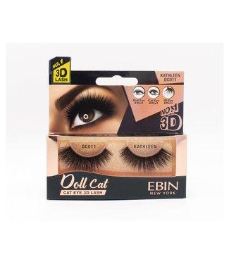 Ebin Doll Cat 3D Lashes - Doll Cat Kathleen