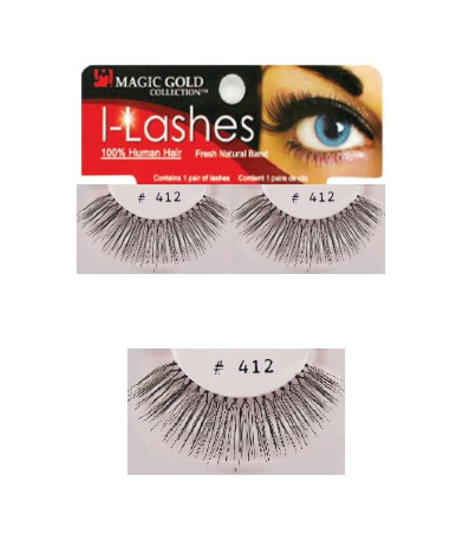 Magic Collection Eye Lashes #412