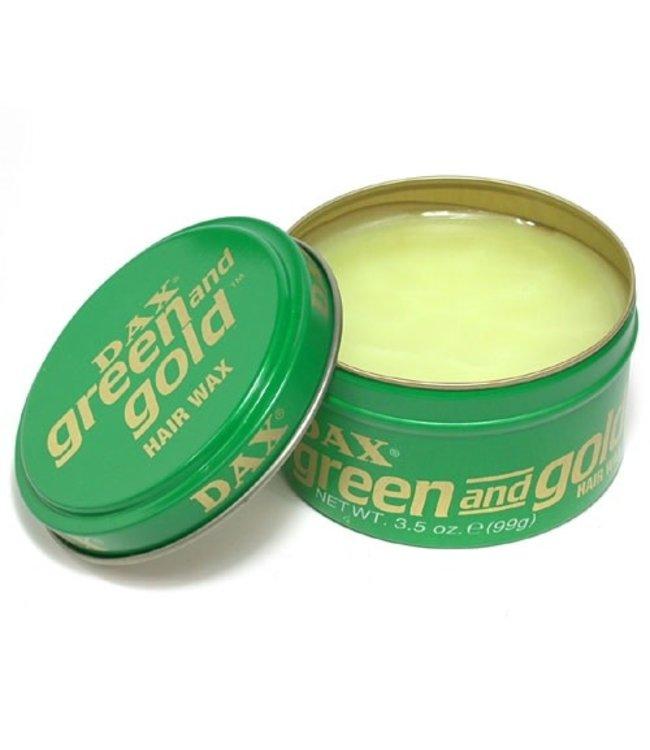 Dax Green & Gold Hair Wax 3.5oz