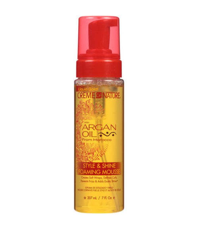 Creme Of Nature Argan Oil Foam Wrap 7oz