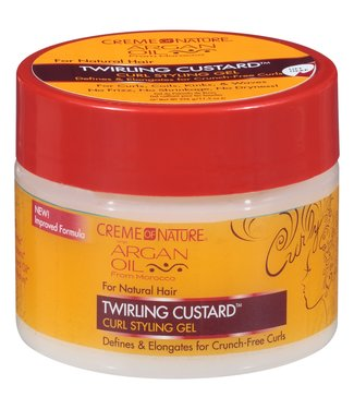 Creme Of Nature Argan Oil Curl & Hold Custard