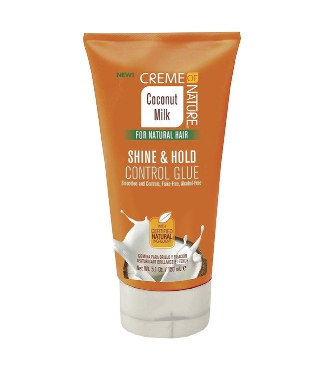 Creme Of Nature Coconut Milk - Shine & Hold Control Glue 5oz