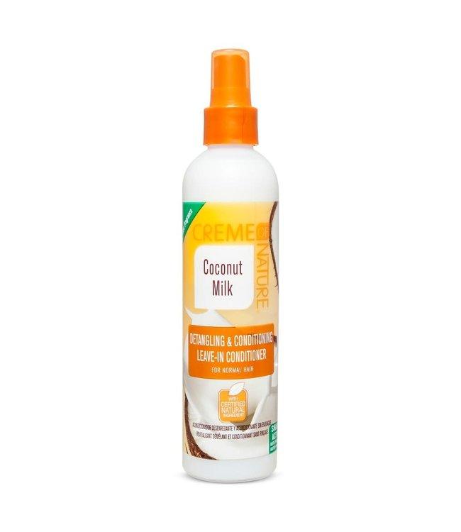 Creme Of Nature Coconut Milk - Detangling & Conditioning Leave-In Conditioner 8oz