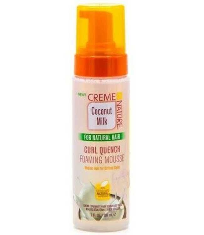Creme Of Nature Coconut Milk - Curl Quench Foaming Mousse 7oz