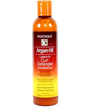 Fantasia IC Argon Oil Leave-in Curl Detangler Conditioner 8oz