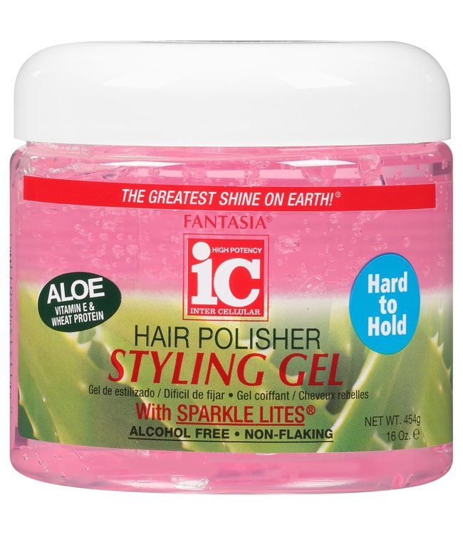 Fantasia IC Hair Polisher Styling Gel - Hard to Hold 16oz
