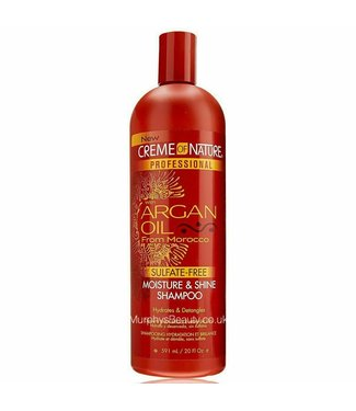 Creme Of Nature Argan Oil - Sulphate Free Moisture & Shine Shampoo 20oz