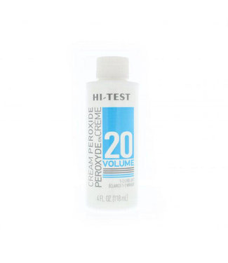 HiTest Volume 20 Cream Peroxide 4oz