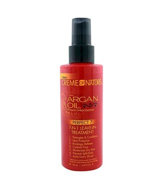 Creme Of Nature Argan Oil Perfect 7 - 7 in 1 Leave-In Treatment 4oz
