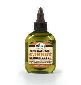 Difeel 99% Natural Premium Hair Oil - Carrot 2.5oz