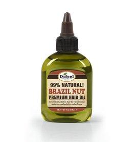 Difeel 99% Natural Premium Hair Oil - Brazil Nut 2.5oz