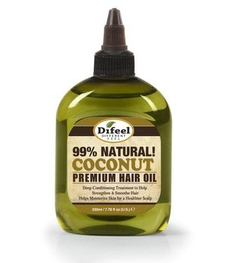 Difeel 99% Natural Premium Hair Oil - Coconut 2.5oz
