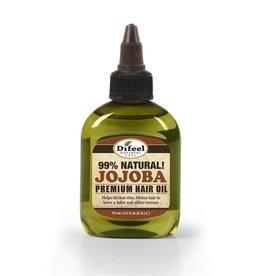 Difeel 99% Natural Premium Hair Oil - Jojoba 2.5oz