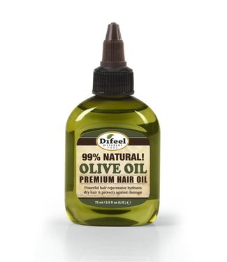 Difeel 99% Natural Premium Hair Oil - Olive Oil 2.5oz