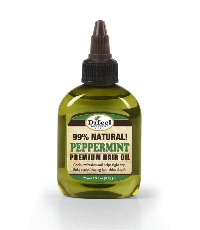 Difeel 99% Natural Premium Hair Oil - Peppermint 2.5oz