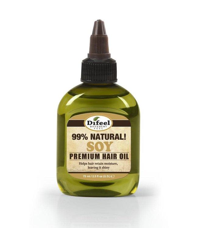 Difeel 99% Natural Premium Hair Oil - Soy 2.5oz