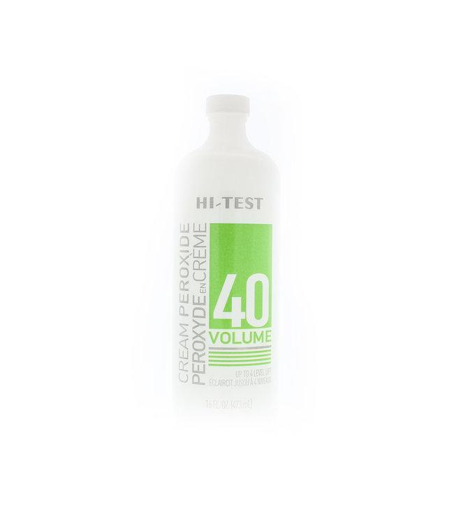 HiTest Volume 40 Cream Peroxide 15oz