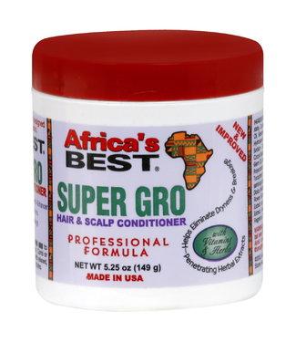 Africa's Best Super Gro Hair & Scalp Conditioner - Regular 5.25oz