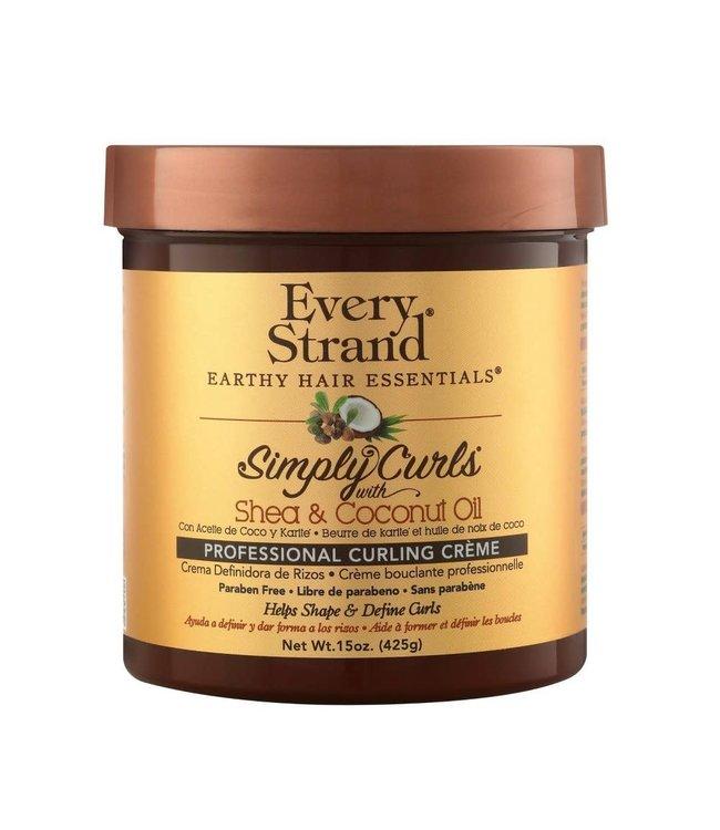 Every Strand Simply Curls - Shea & Coconut Oil Curling Cream 15oz