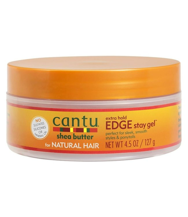 Cantu Shea Butter Edge Stay Gel - Extra Hold 4.5oz