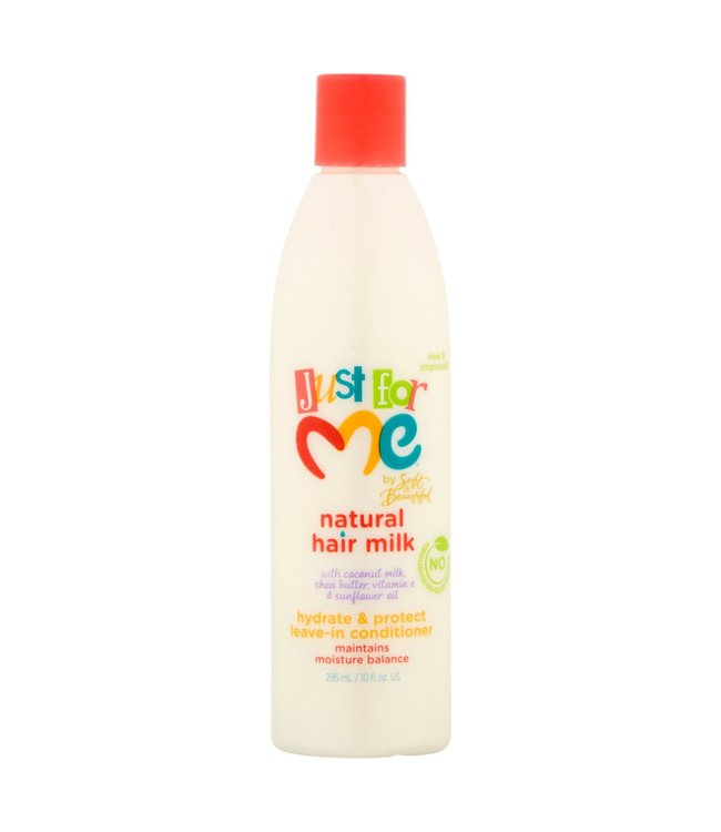 Soft & Beautiful Just For Me Natural Hair Milk Leave-In Conditioner 10z