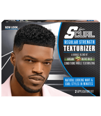 Luster's SCurl Texturizer Kit - Regular Strength (2 applications)