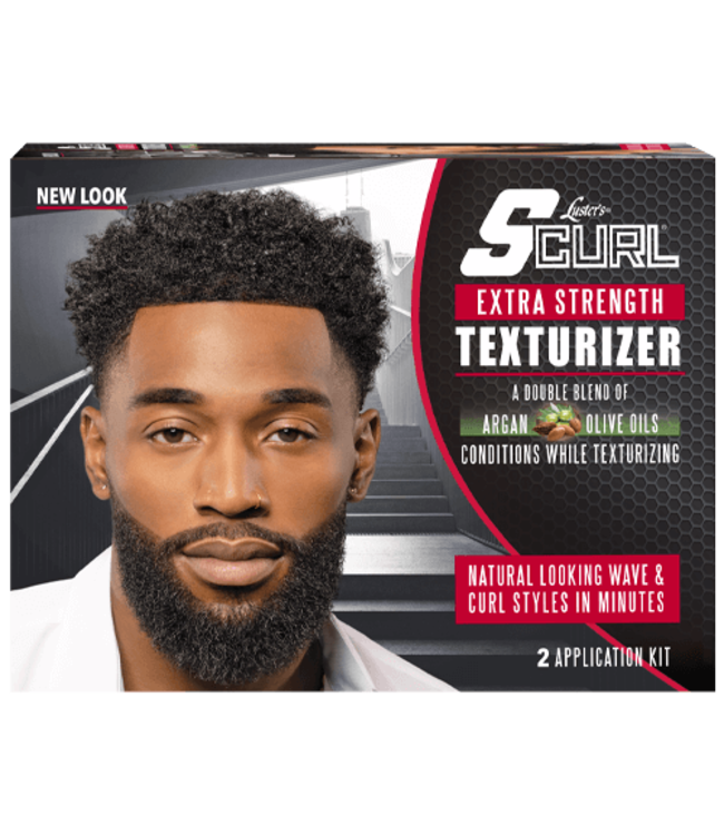 Luster's SCurl Texturizer Kit - Extra Strength (2 applications)