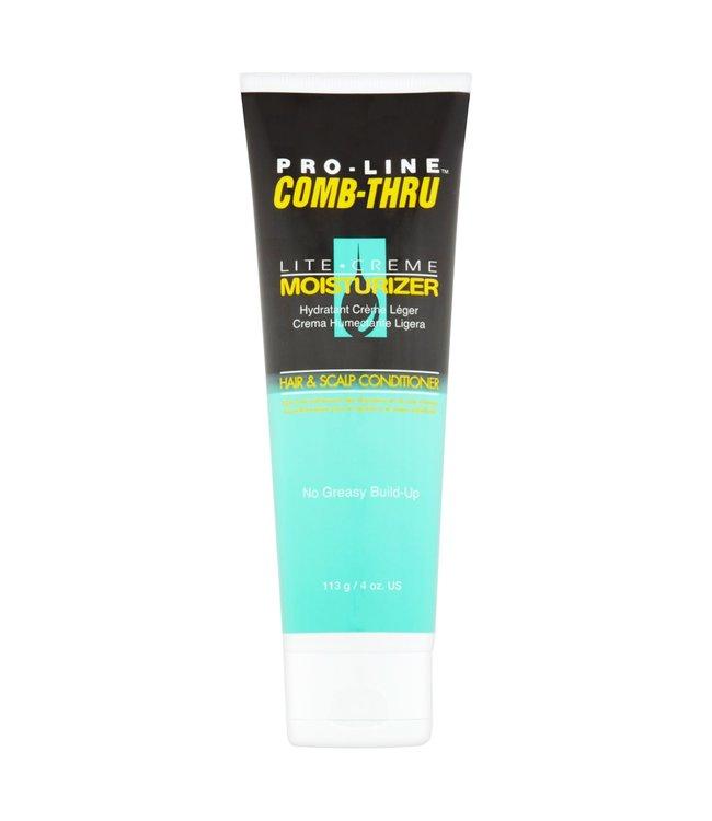 Pro-line Comb-Thru Lite-Creme Moisturizer 4oz