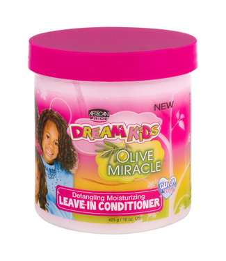 African Pride Dream Kids Olive Miracle Detangling Moisturizing Leave-In Conditioner 15oz