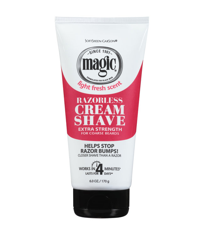 Magic Shave Cream Shave Extra Strength 6oz