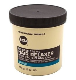 TCB No Base Creme Relaxer - Super 15oz