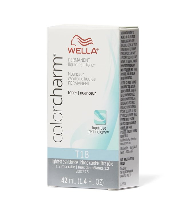 Wella Color Charm - Lightest Ash Blonde (T18)