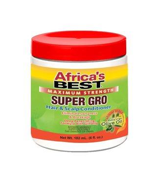 Africa's Best Maximum Strength Super Gro Hair & Scalp Conditioner 6oz