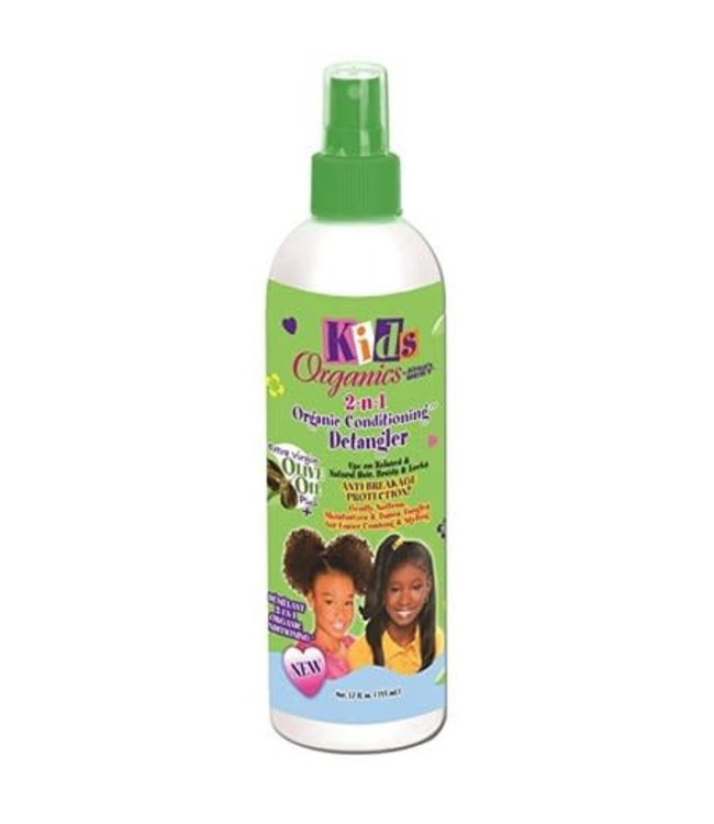 Africa's Best Kids Organics 2 n 1 Conditioning Detangler 12oz