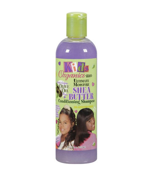 Africa's Best Kids Organics Ultimate Moisture Shea Butter Conditioning Shampoo 12oz