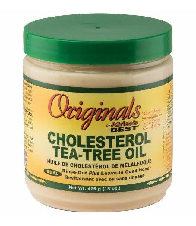 Africa's Best Originals Cholesterol Tea-Tree Oil Conditioner 15oz