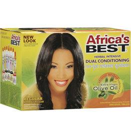 Africa's Best Olive Oil No Lye Relaxer Kit - Regular Strength