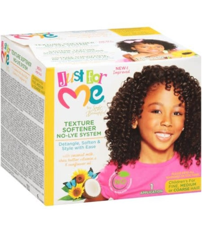 Soft & Beautiful Just For Me Texture Softener No-Lye Kit