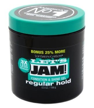 Let's Jam Condition & Shine Gel 4oz - Regular Hold