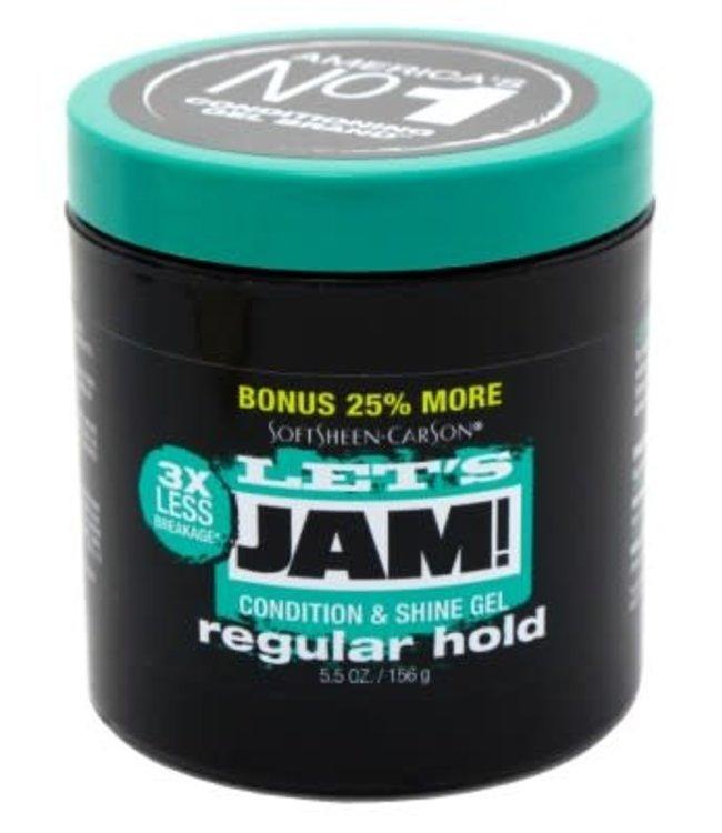 Let's Jam Condition & Shine Gel 4oz - Regular Hold